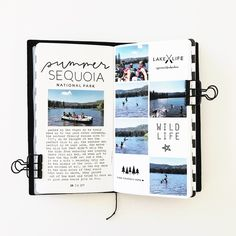 Summer Travelers Notebook by mamaorrelli at Studio Calico