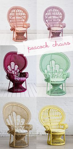 peackock chairs