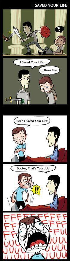 ST - I saved your life by simengt on deviantART