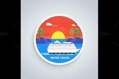 Water Tourism by robuart on Creative Market