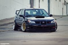 Low & Loud // Vic's Slammed Subaru STI. | Stance:Nation - Form > Function
