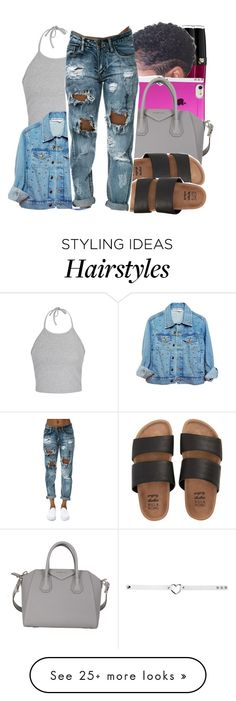 """"""""""" by prvncessbeautifulmee on Polyvore featuring Lancôme, Agent 18, Givenchy, Ally Fashion and Billabong"""