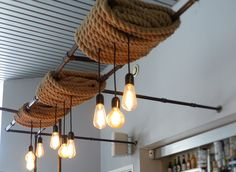 Loft industriel 6 fio cage lustre pendentif lampe de lumi¨re