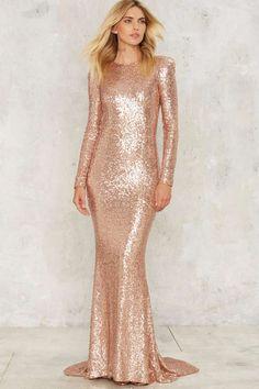 Ladasha Vonage's Dress: Zhivago Shine Down Maxi Dress   Shop Clothes at Nasty Gal!