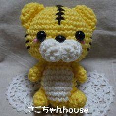 tigre amigurumi pagina japonesa