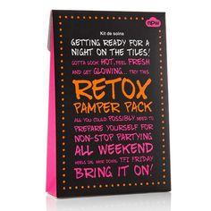 """Набор масок """"Retox Pamper Pack"""" (4 маски)"""