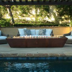 """Awesome """"outdoor fire pit ideas"""" info is available on our internet site. Take a look and you wont be sorry you did. Copper Fire Pit, Concrete Fire Pits, 20 Lb Propane Tank, Outdoor Lighting, Outdoor Decor, Outdoor Ideas, Outdoor Spaces, Fire Glass, Outdoor Kitchen Design"""