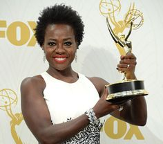 Oprah, Diddy, Other Celebs React to Viola Davis' Historic Emmys 2015 Best Actress Win Viola Davis, Catherine O'hara, Matt Leblanc, Best Horror Movies, The Emmys, Best Horrors, How To Get Away, Celebs, Celebrities