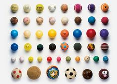Balls Stuart Haygarth photo arrangement