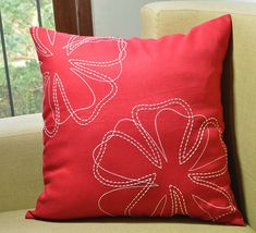 Hey, I found this really awesome Etsy listing at https://www.etsy.com/listing/225258512/flower-pillow-cover-decorative-pillow