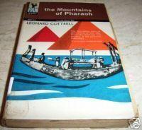 """""""The Mountains of Pharaoh"""" av Leonard COTTRELL Baseball Cards, Mountains, Reading, Books, Libros, Book, Reading Books, Book Illustrations, Bergen"""