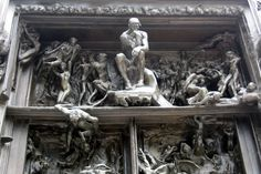 Paris - Musée Rodin: La Porte de l'Enfer