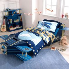 awesome Airplane Toddler Bed