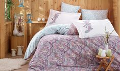 Dose Of Modern Giulia - Lilac Poplin Single Quilt Cover Set - Lilac White Grey Pink Turkish Decor, Double Quilt, Single Quilt, Hobby House, Quilt Cover Sets, Home Collections, Home Accents, Home Accessories, Home Goods