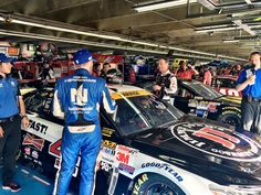 10*9*15 @ Charlotte in the garage with Kevin Harvick