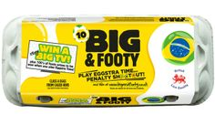 Limited edition promotional World Cup 2014 packs from Big  Fresh PD