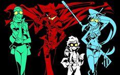 The original Gurren Lagann gang! <3
