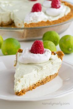 Get ready to enjoy the deliciousness of Easy Vegan Key Lime Pie, made dairy-free and egg-free with easy to follow, no-bake instructions!