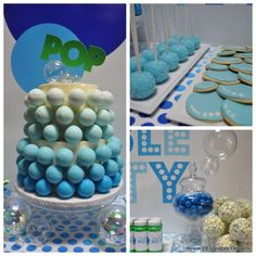 Bubbles Party - unique party theme for a bubble loving kiddo!