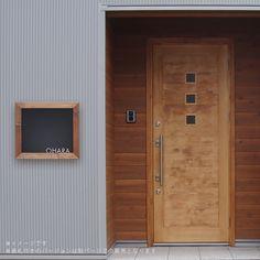 黒板をイメージしたデザインのポスト「Black board ブラックボード 埋め込み型ポスト」|ジューシーガーデン【公式】