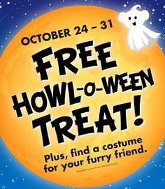 FREE Halloween Treat at Buld-A-Bear on 10/24-10/31...