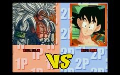 Dragon Ball M.U.G.E.N. Edition 2007. Goku SSJ5 vs Goku NEX / 悟空超サイヤ人五VS悟...