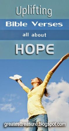 Check out these uplifting Bible verses all about HOPE! Rejoice in hope, be patient in tribulation, be constant in prayer.