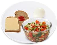 Great dinner idea  #diet #meal  Love fresh salad - Just add olive oil and fresh Lemon ! More ideas? Look at make my #plate