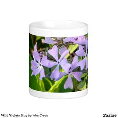 Wild Violets Mug