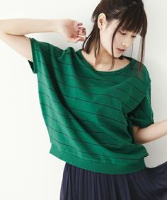 Green and Blue lines_ comfy sweatshirt