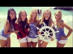 Sail Away was taken off of the Delta Gamma Fraternity Recruitment Songs and Skits CD from about 2002ish. I do not know what chapter is singing, but would love to attribute them if anyone knows!