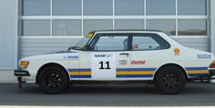 1985 Saab 90 Group H Rally Prepped