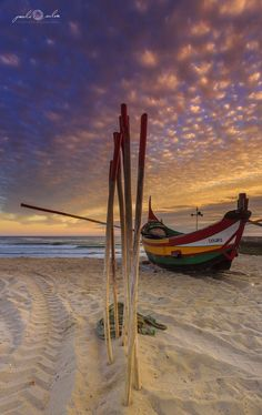 Beautiful Islands, Beautiful Sunset, Beautiful Places, Romantic Places, Portugal, Nature Pictures, Cool Pictures, Rivage, Love Boat