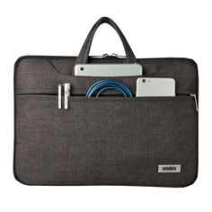 Unisex Simple Laptop Handbag 14 inch Computer Bag Convenient and Easy to Receive Portable Laptop Bag