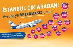 #İzmir'den #Avrupa'nın 30, #Antalya'dan Avrupa'nın 35 şehrine aktarmasız uçun! www.sunexpress.com