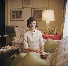 "mrsjohnfkennedy: ""First Lady Jacqueline Kennedy, White House, 1961. """