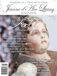 October edition of Jeanne d'Arc Living magazine is ready for preorder!