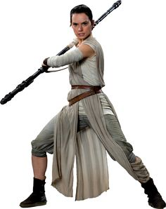 Star Wars: Fit for a Queen — Rey's Scavenger Outfit - Promotional Photos