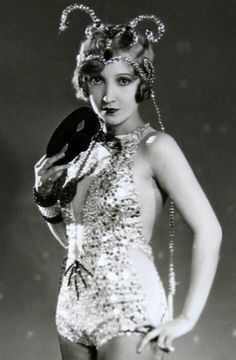 Bessie Love 1928-1929 'The Broadway Melody.'  She received a Best Actress Oscar nomination for this, in MGM's first all-sound movie.