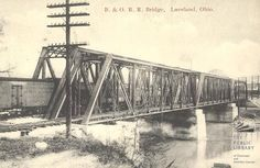 Railroad Bridge down by McCoy's Pony Keg - Loveland Loveland Ohio, Railroad Bridge, Bike Trails, Trail Running, Historical Photos, Cincinnati, Old Photos, History, Aperture