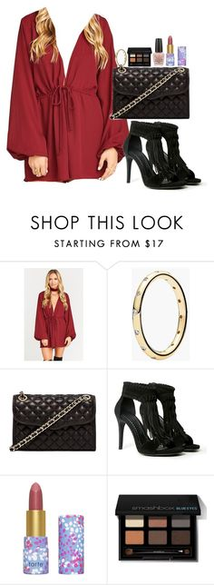 """Untitled #3157"" by abigailtaylor ❤ liked on Polyvore featuring Pandora, Rebecca Minkoff, Chinese Laundry, tarte, Smashbox and OPI"