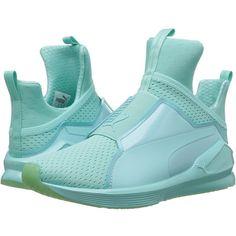 8dc4ad16db2 PUMA Fierce Bright Mesh (Aruba Blue) Womens Shoes ( 100) ❤ liked on