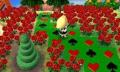 Alice in Wonderland Path ♥ Animal Crossing New Leaf Qr Code