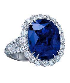 Sapphire and Diamond Ring | Cellini Jewelers