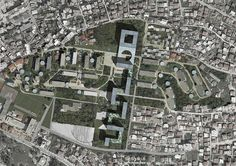 (dp)a studio completes master plan proposal for tirana's student city