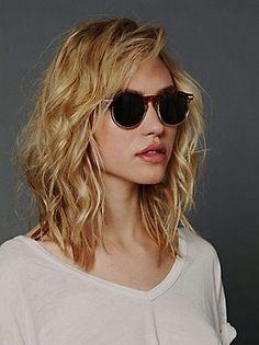 c337c0899d Mid length wavy hair Mid Length Curly Hairstyles