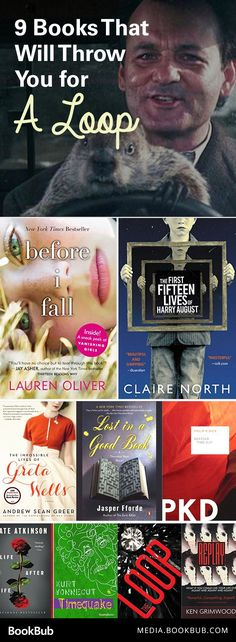 11 time loop books that are challenging, exciting reads. Including books for adults and teens alike.