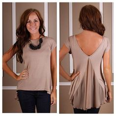 Our Plié Top is BACK!! We adore the unexpected femininity that the back presents.  #Page6Boutique  #shoppage6