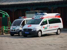北京 Beijing Red Cross ambulance in China