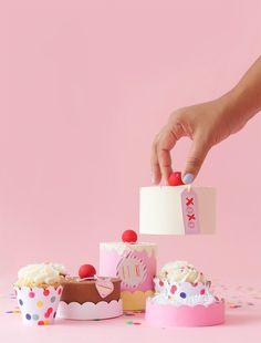 Easy DIY Paper Mache Cake Box | damask love | Bloglovin'